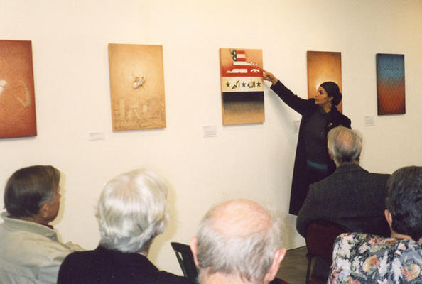 Exhibition lecture at ANCA Gallery, Canberra